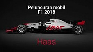 Peluncuran mobil F1 2018 - Haas