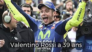 La carrière de Valentino Rossi en 60 secondes