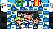 El GP de Brasil 2007 que coronó a Raikkonen ante Hamilton/Alonso, por los 'Minis'