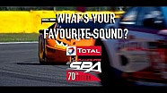 What's your favourite engine sound?! - 24 Hours of Spa 2018