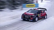Craig Breen et Citroën sur le podium en Suède