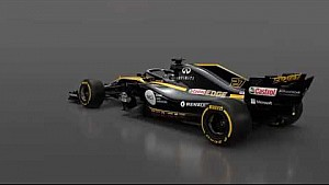 Apresentações Fórmula 1 2018 - Renault