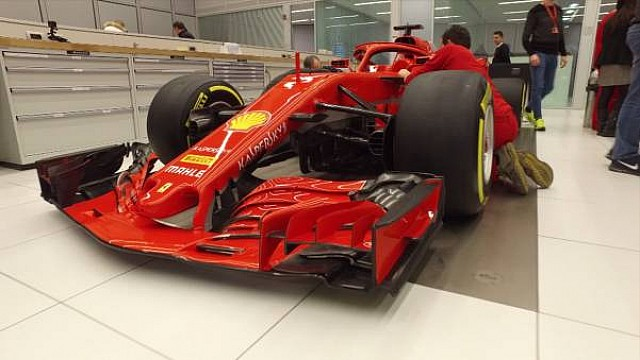 Formel 1 Video: Das Farbdesign des Ferrari SF71H