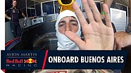 On board with Daniel Ricciardo for a helmet cam view in Buenos Aires