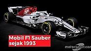 Evolusi mobil F1 Sauber sejak 1993