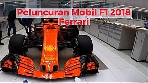 Peluncuran Ferrari SF71H - F1 2018