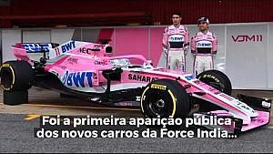 Primeiro dia de testes da F1 2018 em Barcelona