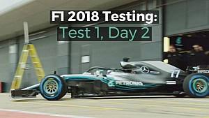 F1 2018 Testing: Test 1, Day 2