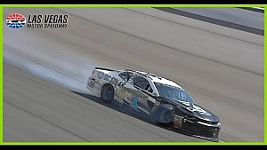 Jamie McMurray smacks wall in final Vegas stage