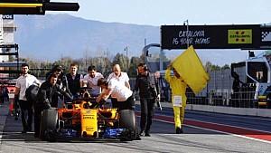 F1 2018 Testing: Test 2, Day 1