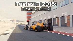 Testes F1 2018: Teste 2, Dia 2