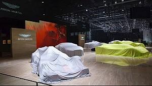 Behind the scenes: Aston Martin Lagonda at Geneva Motor show 2018