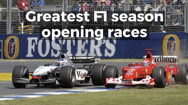 Formula 1 Motorsport Stories: Greatest Formula 1 season opening races