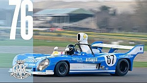Screaming V12 Matra monsters Goodwood