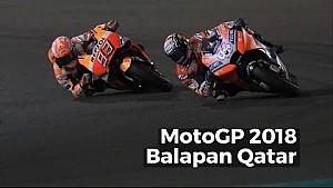 Highlights balapan Qatar - MotoGP 2018
