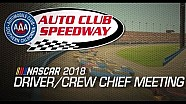 Drivers meeting video: Auto club