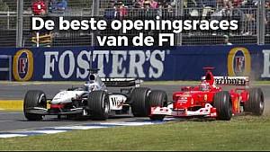 Racing Stories - De mooiste openingsraces van de F1