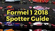 Die Autos der Formel 1 2018