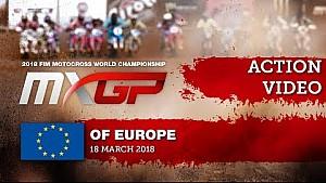 Duelo Pauls Jonass-Jorge Prado - MXGP de Europa 2018
