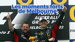 Les moments forts de la F1 à Melbourne