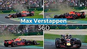 Max Verstappen 360 | GP Australia 2018