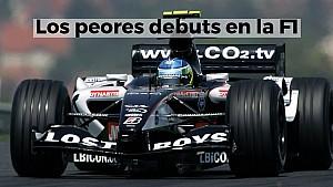 Racing Stories: los peores debuts en F1
