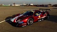 Ferrari 488 GTE, Fiorano'da piste çıkıyor