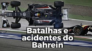 VÍDEO: Batalhas e acidentes do Bahrein
