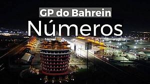 VÍDEO: Números do GP do Bahrein