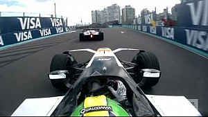 Full race onboard: Di Grassi battles Vergne for lead all race!