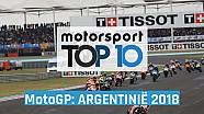 Top 10: MotoGP Grand Prix van Argentinië