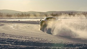 Snow drift: driving McLarens deep in the Arctic circle