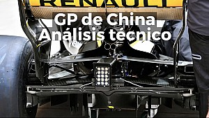 Las mejoras técnicas del GP de China 2018 ESP