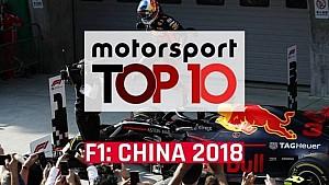 Top 10 GP da China 2018