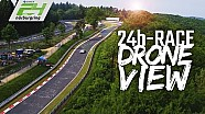 Crazy drone view of the 24 hours of Nürburgring | behind-the-scenes by DJI