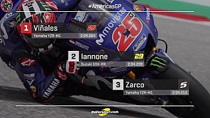 GP of the Americas 2018 - Starting Grid