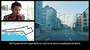 Formule E à Zurich: le piste de course avec Daniel Abt