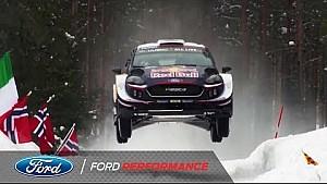 M-Sport Ford Fiesta WRC aero test