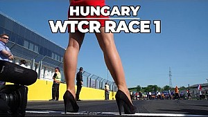 Race 1 highlights Hungaroring with Tom Coronel with the Honda Civic Type R