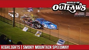 World of Outlaws Craftsman late models Smoky Mountain speedway April 27, 2018 | Highlights