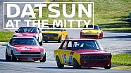 Classic Datsun cars take over  'The Mitty' @ Road Atlanta