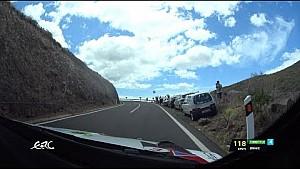 Rally Islas Canarias 2018 - Gryazin OBC on QS with data