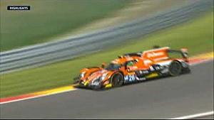 WEC 6 uur Spa: Crash Fittipaldi