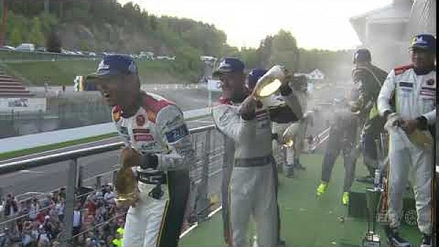 2018 total 6 hours of Spa-Francorchamps - Selebrasi podium