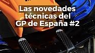Las mejoras técnicas del GP de España de F1 2018 Parte 2 ESP