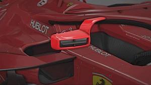 Ferrari: specchietti sull'Halo