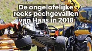 Het pechvolle seizoen van het Haas F1 Team