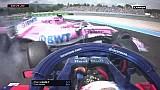 Le départ du Grand Prix de France F1