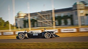 Roborace completes its first autonomous hillclimb run during Goodwood test session