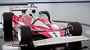 Les voitures historiques de F1 2018